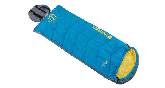 Lafuma Yukon 5 Sleeping Bag Junior electric blue